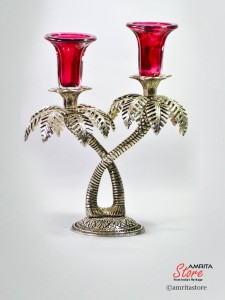 Candle stand Date Palm
