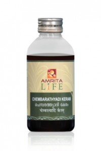 AMRITA CHEMBERATHYADI KERAM -200 ML HAIR OIL