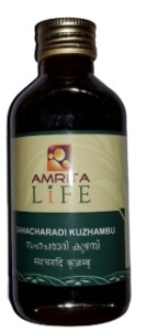 AMRITA-SAHACHARADI-KUZHAMBU-MEDICATED-MASSAGE OIL-200ML