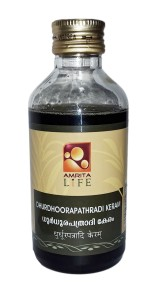 AMRITA-DHURDHOORAPATHRADI-KERAM-ANTI DANDRUFF-HAIR-OIL-200ML